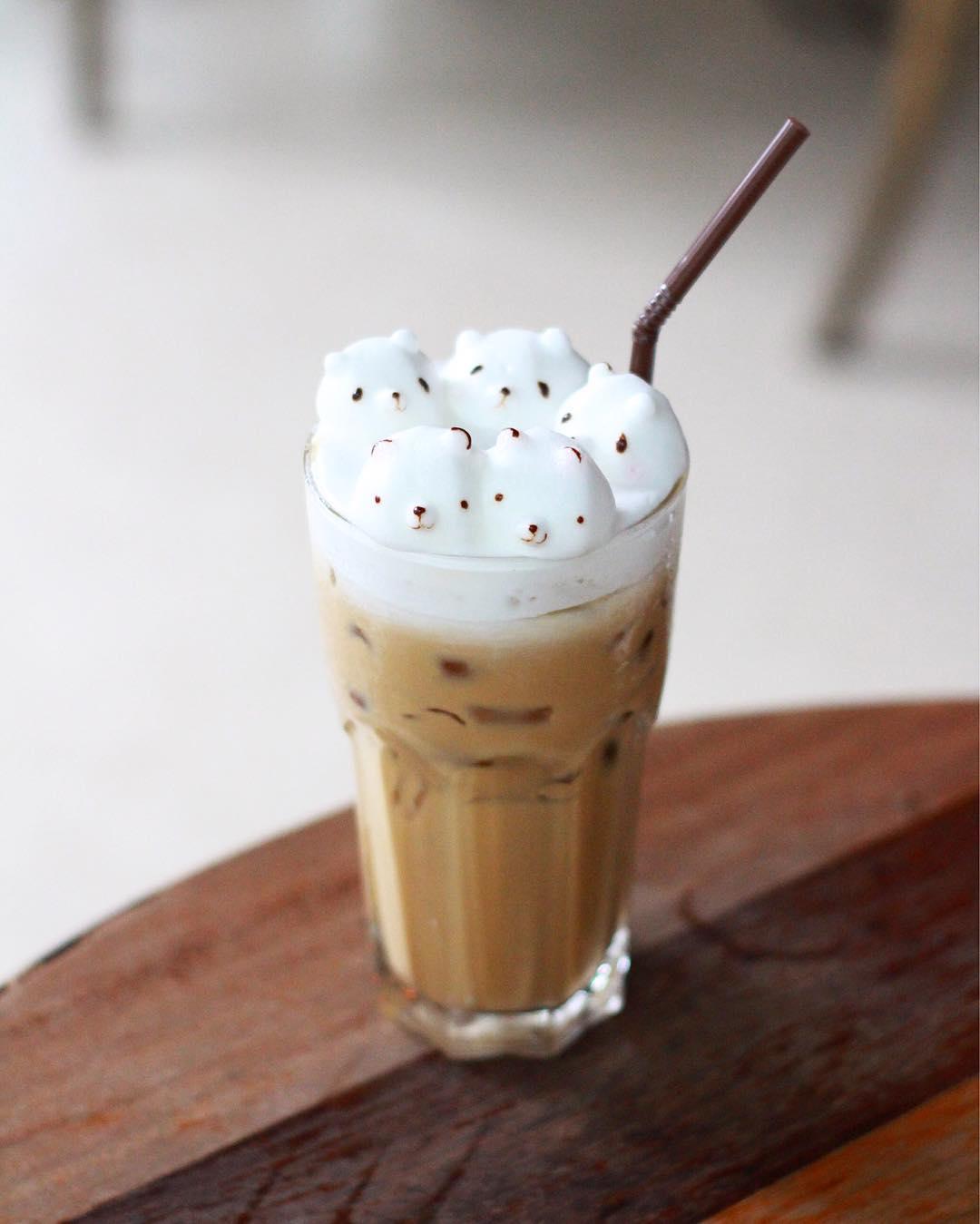 15 tác phẩm tranh vẽ latte khiến hội ghiền cà phê thích mê - Ảnh 5.