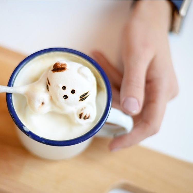 15 tác phẩm tranh vẽ latte khiến hội ghiền cà phê thích mê - Ảnh 9.