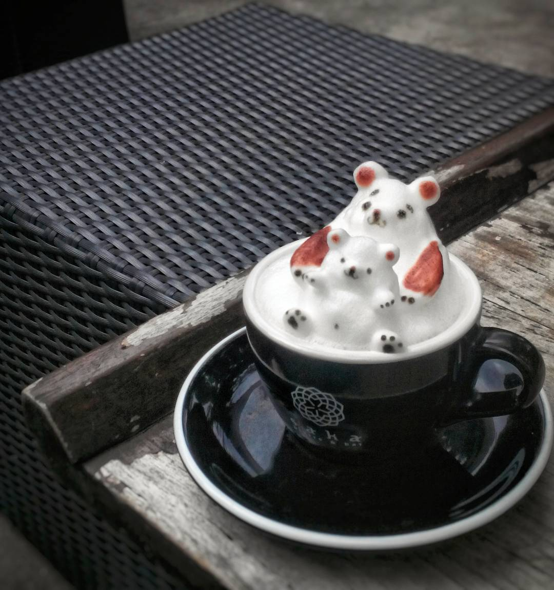 15 tác phẩm tranh vẽ latte khiến hội ghiền cà phê thích mê - Ảnh 15.