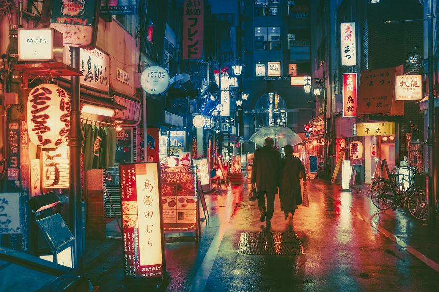 Có một Tokyo lung linh và huyền diệu khi đêm về - Ảnh 13.