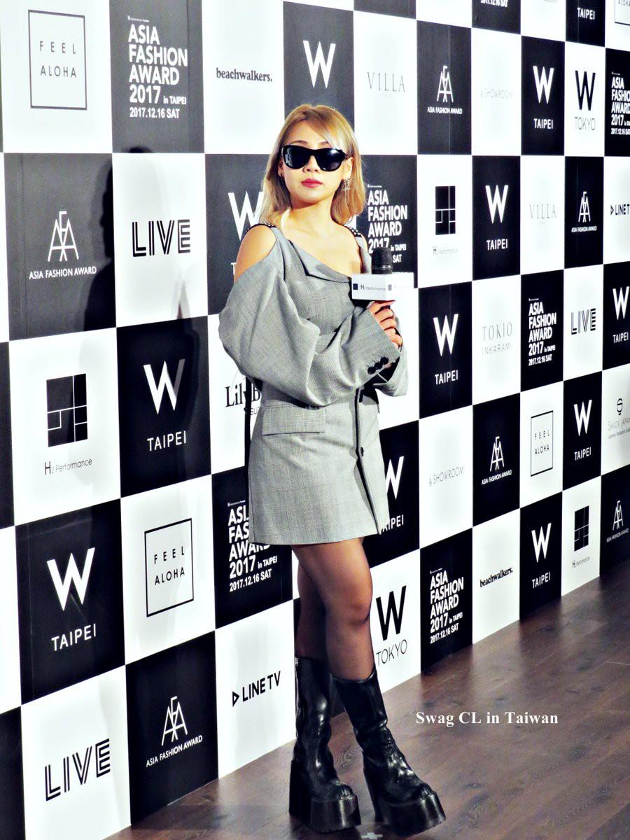 Mang thiết kế Công Trí đến thảm đỏ Asia Fashion Award, Lan Khuê còn nổi bật hơn cả CL - Ảnh 6.