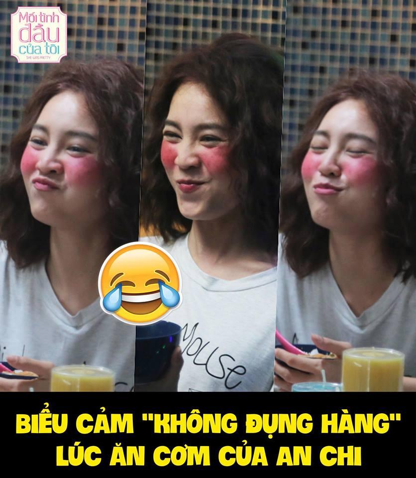 She Was Pretty Việt chưa chiếu mà khán giả đã thực sự quan ngại về gò má hồng làm quá của Lan Ngọc - Ảnh 3.