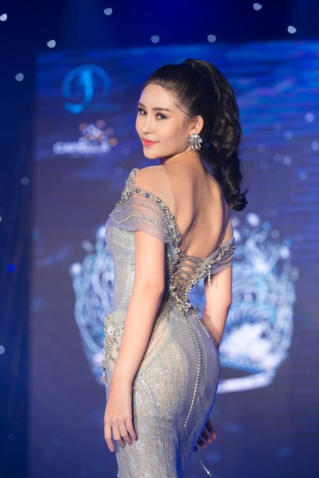 Nhan sắc gây tranh cãi của cô gái vượt qua 30 đối thủ giành chiếc vương miện Hoa hậu Đại dương 2017 - Ảnh 1.