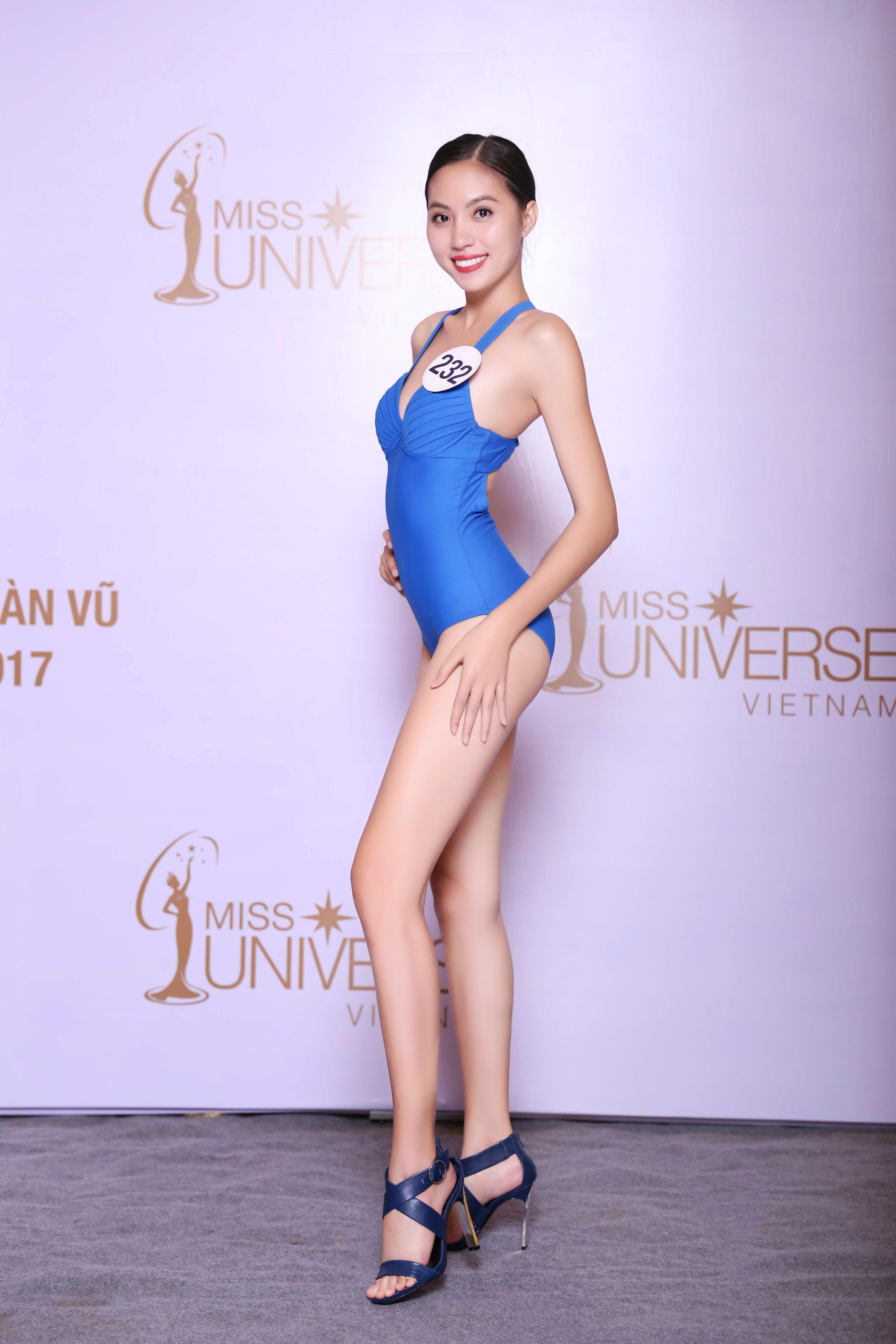 Cận cảnh hình ảnh bikini của Hoàng Thùy, Mâu Thủy, Mai Ngô... tại Hoa hậu Hoàn vũ, ai nuột nhất? - Ảnh 12.