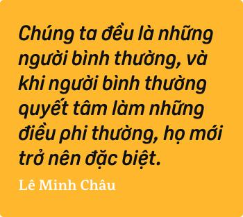 Lê Minh Châu - Từ cậu bé khuyết tật ở làng Hòa Bình đến họa sĩ vẽ tranh bằng miệng trong phim tài liệu tranh - Ảnh 9.