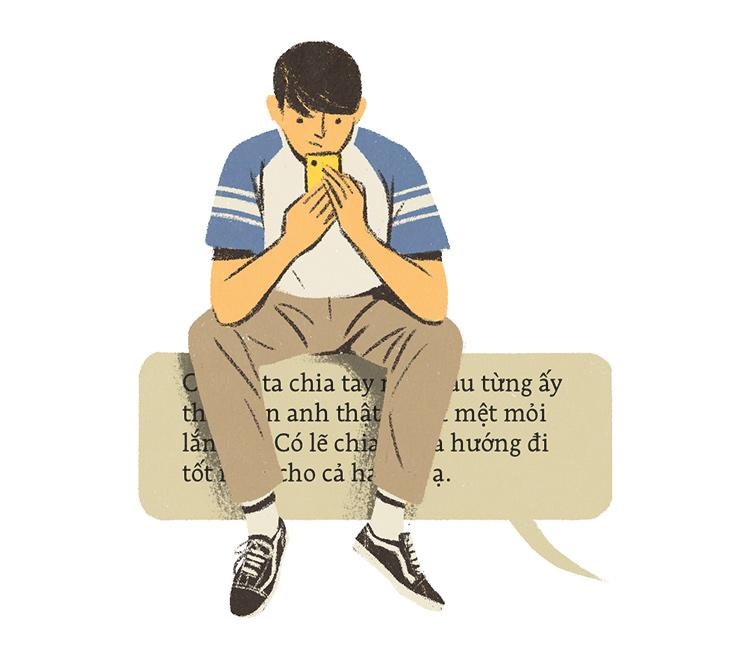 Khi tình yêu thời nay trục trặc, chúng ta cãi nhau và chia tay bằng tin nhắn, chẳng ai còn chọn cách ngồi lại nói thẳng với nhau... - Ảnh 5.