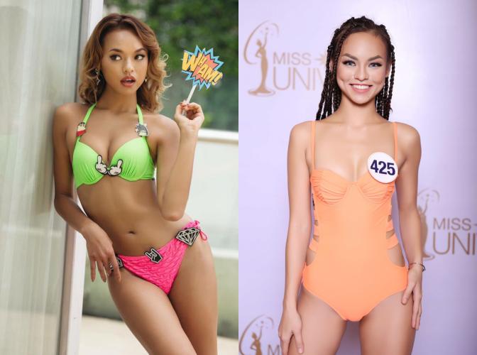 Chẳng biết vì sao mà cứ đi thi Hoa hậu Hoàn vũ là thân hình sao Việt này bỗng dưng trở nên khác hình bình thường? - Ảnh 11.