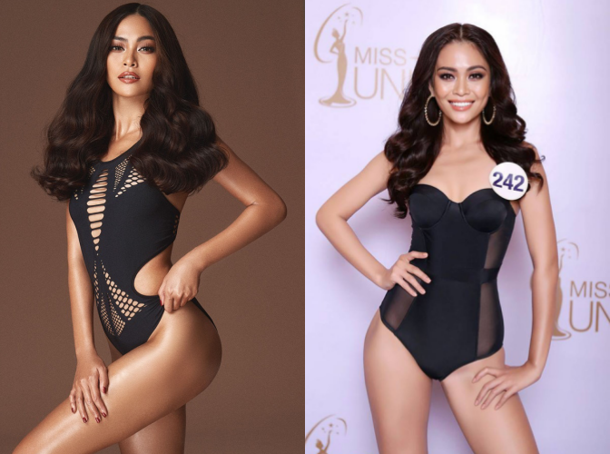 Chẳng biết vì sao mà cứ đi thi Hoa hậu Hoàn vũ là thân hình sao Việt này bỗng dưng trở nên khác hình bình thường? - Ảnh 6.