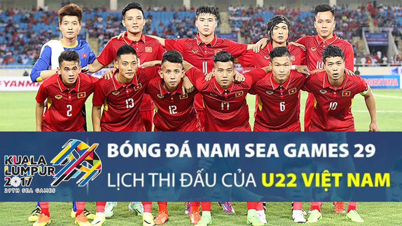 Lịch thi đấu chi tiết môn bóng đá nam SEA Games 29 - Ảnh 1.