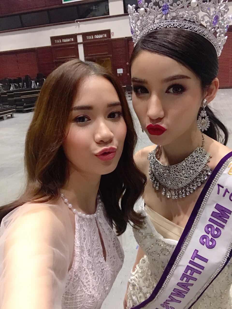 Chân dài thay thế Ngọc Trinh tươi tắn, tự tin đọ sắc với Hoa hậu chuyển giới Thái Lan - Ảnh 3.