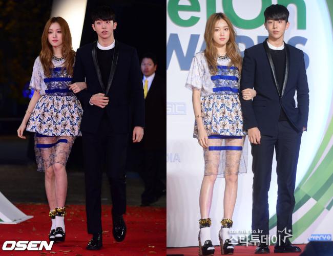 Những khoảnh khắc tình bể bình minh chứng cặp đôi YG Lee Sung Kyung và Nam Joo Hyuk là chân ái - Ảnh 5.
