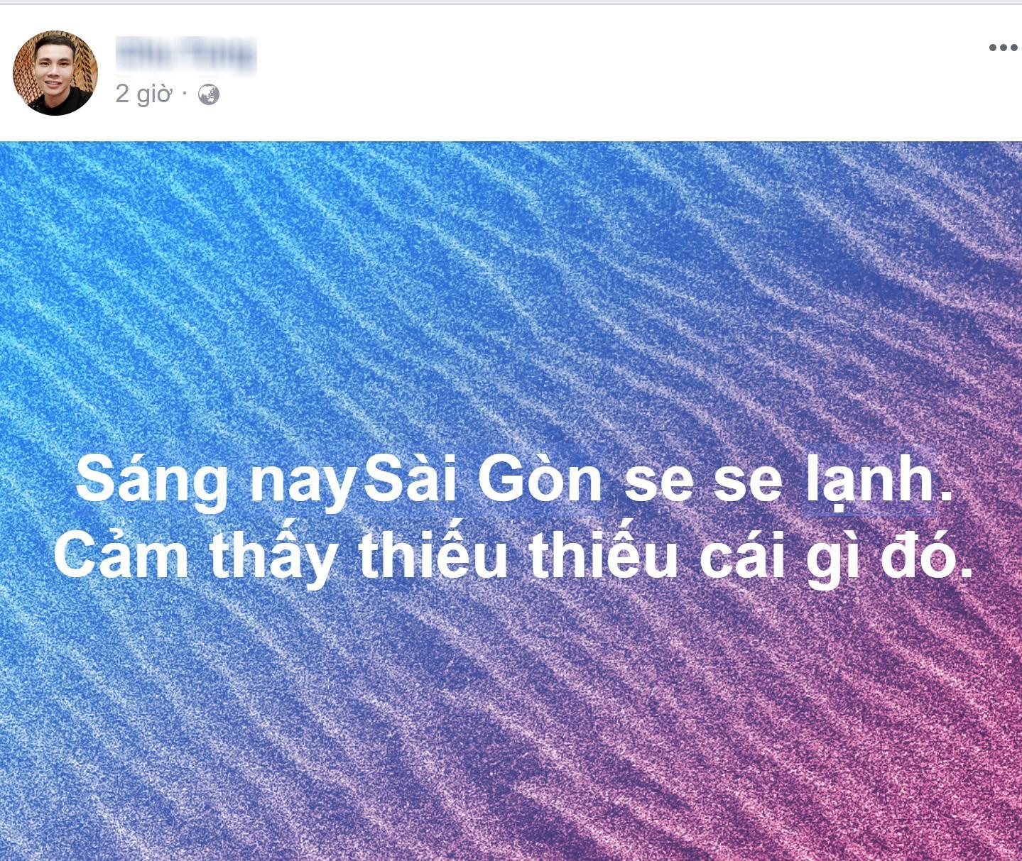 Sáng ngày ra, Facebook rồi Instagram tràn ngập status khoe Sài Gòn trở lạnh! - Ảnh 10.