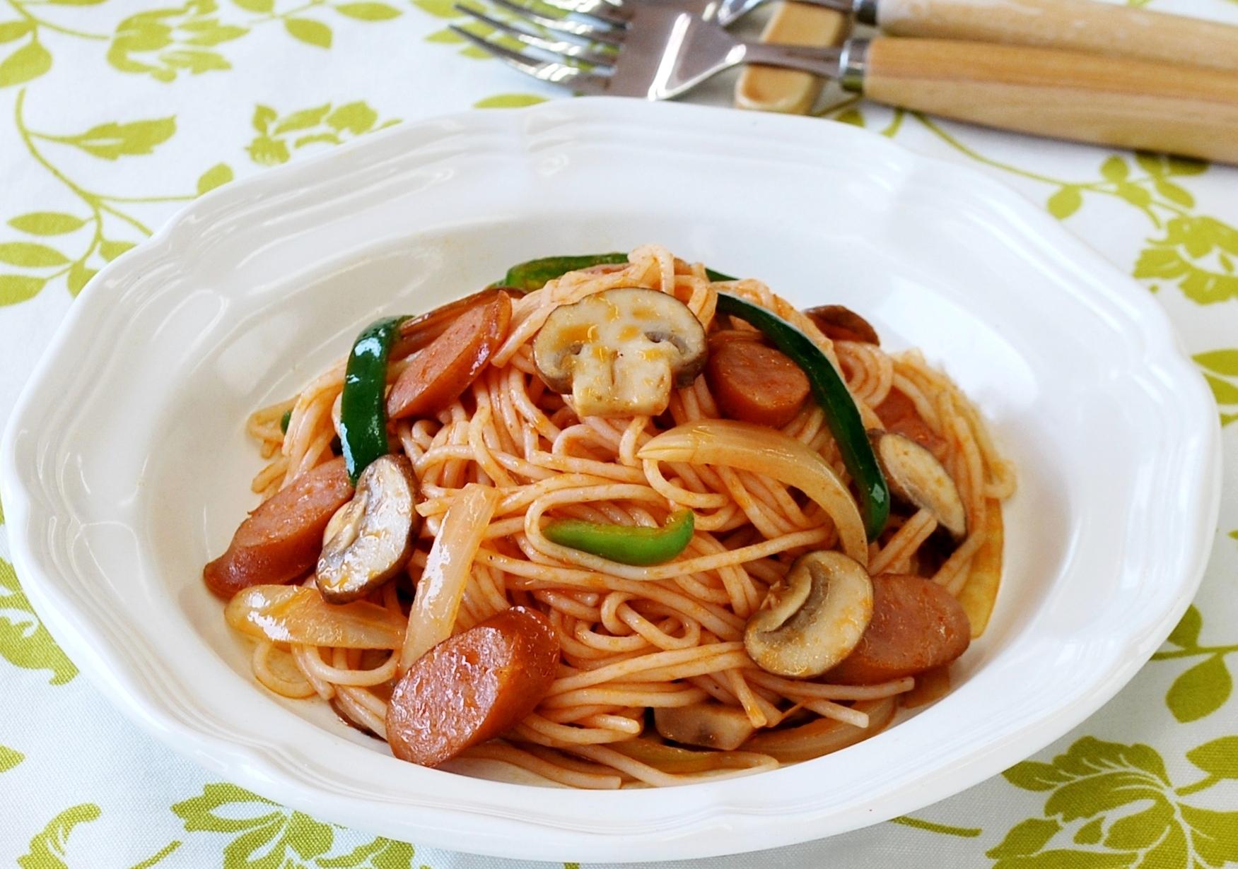 Napolitan Spaghetti - nghe thì tưởng món Ý nhưng đây lại là mì Nhật đấy - Ảnh 9.