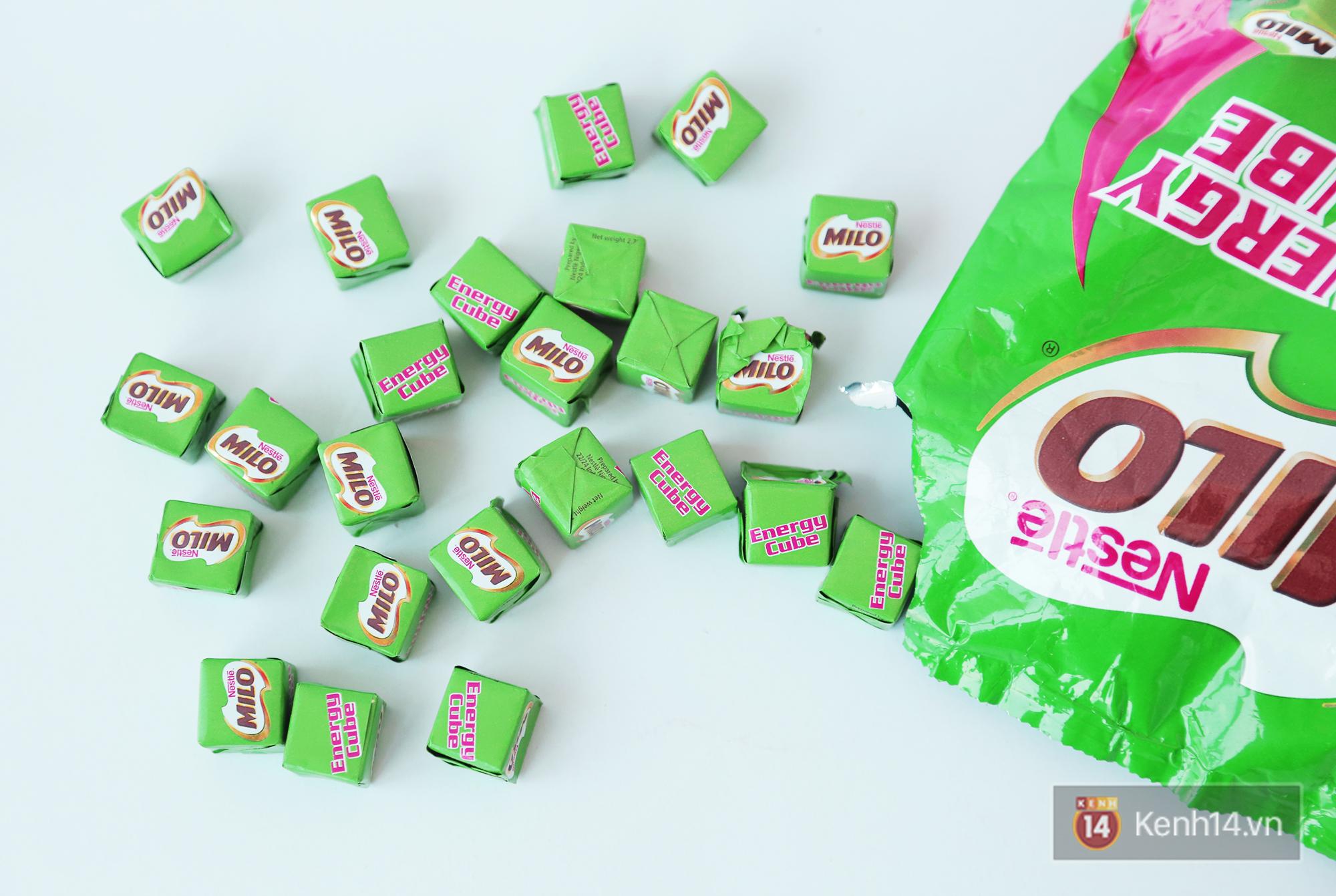 Kết quả hình ảnh cho kẹo chuối – Milo cube