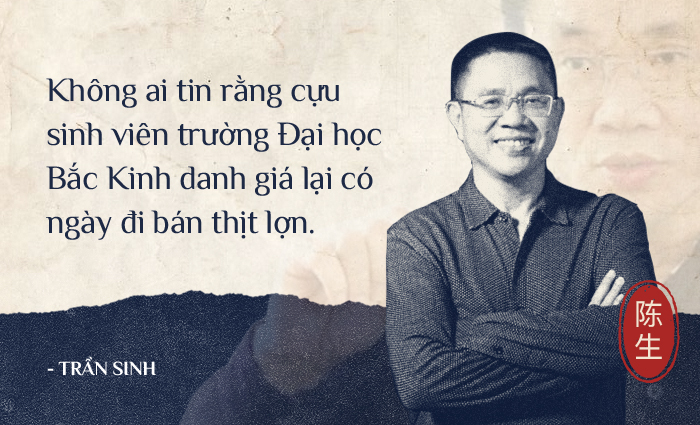 Tốt nghiệp Đại học Bắc Kinh danh giá, 2 vị cử nhân bị cười chê vì đi bán thịt lợn giờ đã trở thành tỷ phú - Ảnh 1.