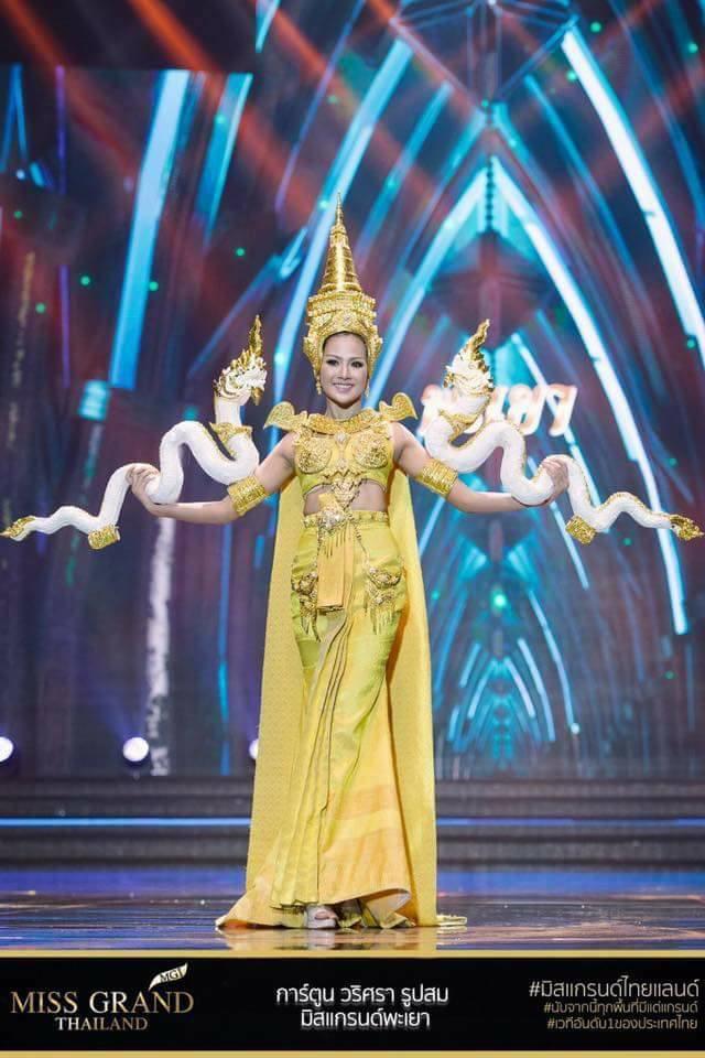 Miss Grand Thailand 2017: Thời trang dị nhưng đẹp, đầy đủ từ nhân mã cho đến tiên sầu riêng - Ảnh 3.