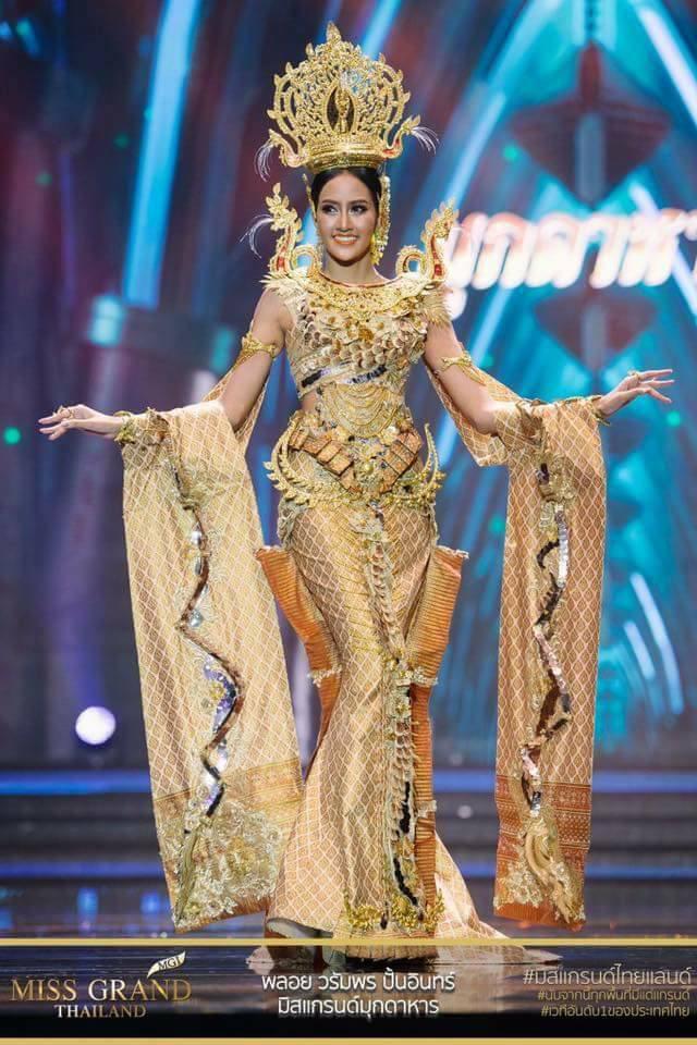 Miss Grand Thailand 2017: Thời trang dị nhưng đẹp, đầy đủ từ nhân mã cho đến tiên sầu riêng - Ảnh 5.