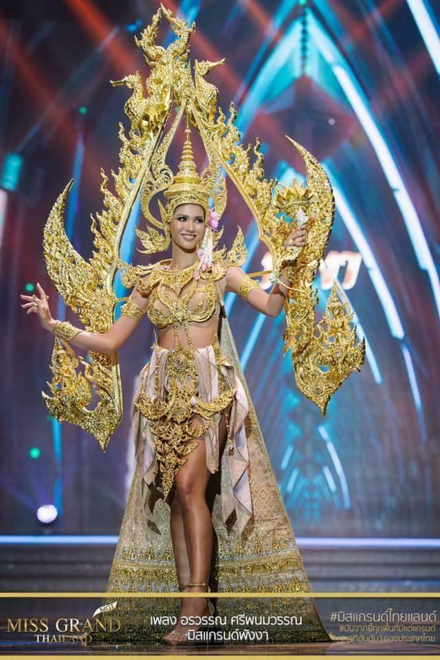 Miss Grand Thailand 2017: Thời trang dị nhưng đẹp, đầy đủ từ nhân mã cho đến tiên sầu riêng - Ảnh 6.