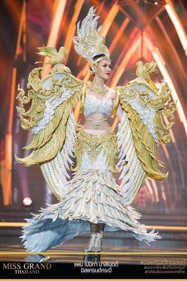 Miss Grand Thailand 2017: Thời trang dị nhưng đẹp, đầy đủ từ nhân mã cho đến tiên sầu riêng - Ảnh 7.