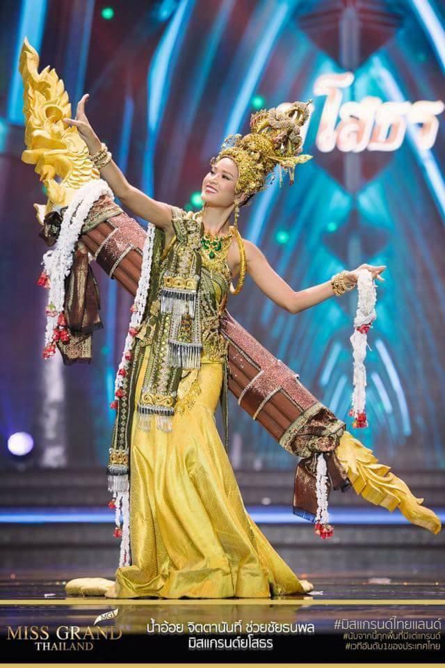 Miss Grand Thailand 2017: Thời trang dị nhưng đẹp, đầy đủ từ nhân mã cho đến tiên sầu riêng - Ảnh 9.