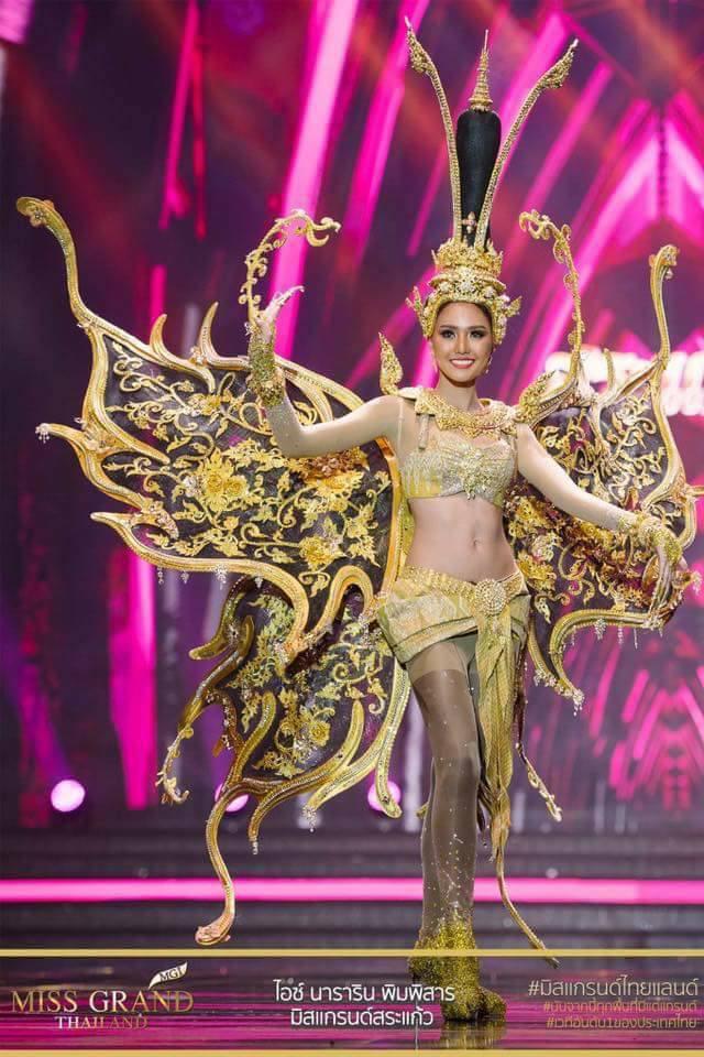 Miss Grand Thailand 2017: Thời trang dị nhưng đẹp, đầy đủ từ nhân mã cho đến tiên sầu riêng - Ảnh 10.