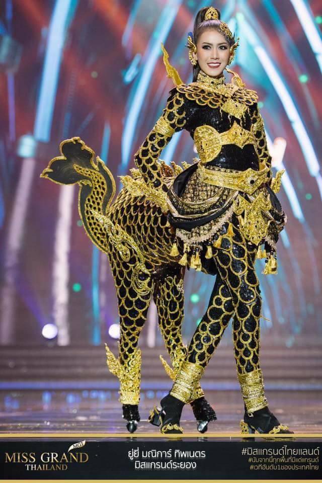 Miss Grand Thailand 2017: Thời trang dị nhưng đẹp, đầy đủ từ nhân mã cho đến tiên sầu riêng - Ảnh 2.