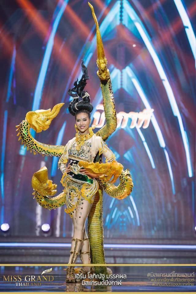 Miss Grand Thailand 2017: Thời trang dị nhưng đẹp, đầy đủ từ nhân mã cho đến tiên sầu riêng - Ảnh 11.