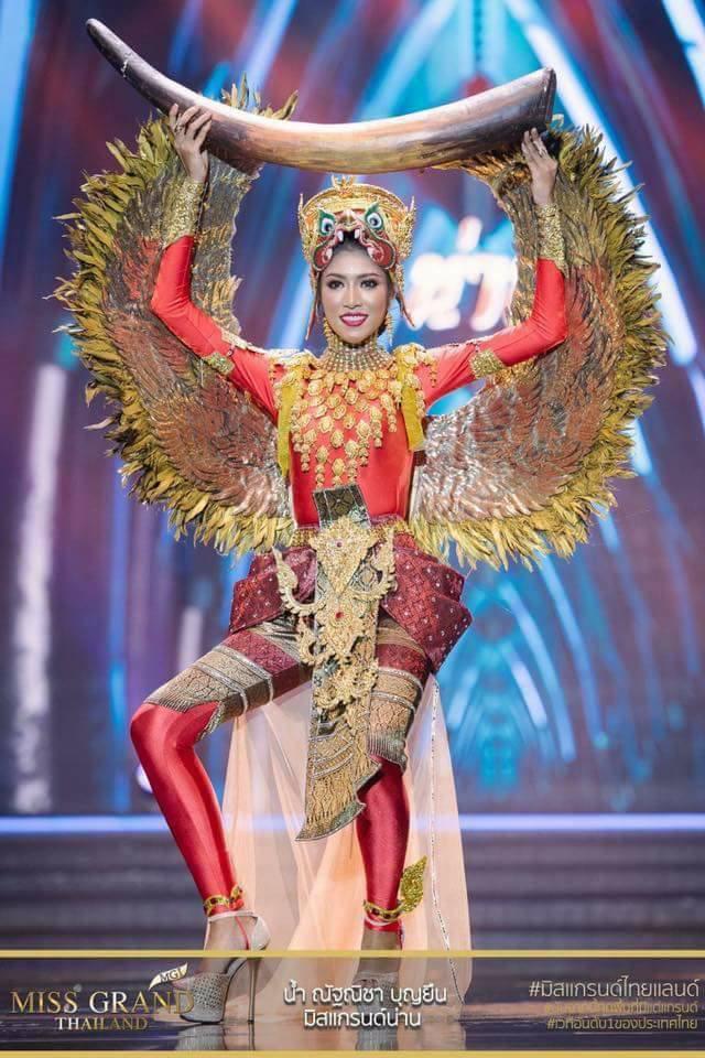 Miss Grand Thailand 2017: Thời trang dị nhưng đẹp, đầy đủ từ nhân mã cho đến tiên sầu riêng - Ảnh 12.