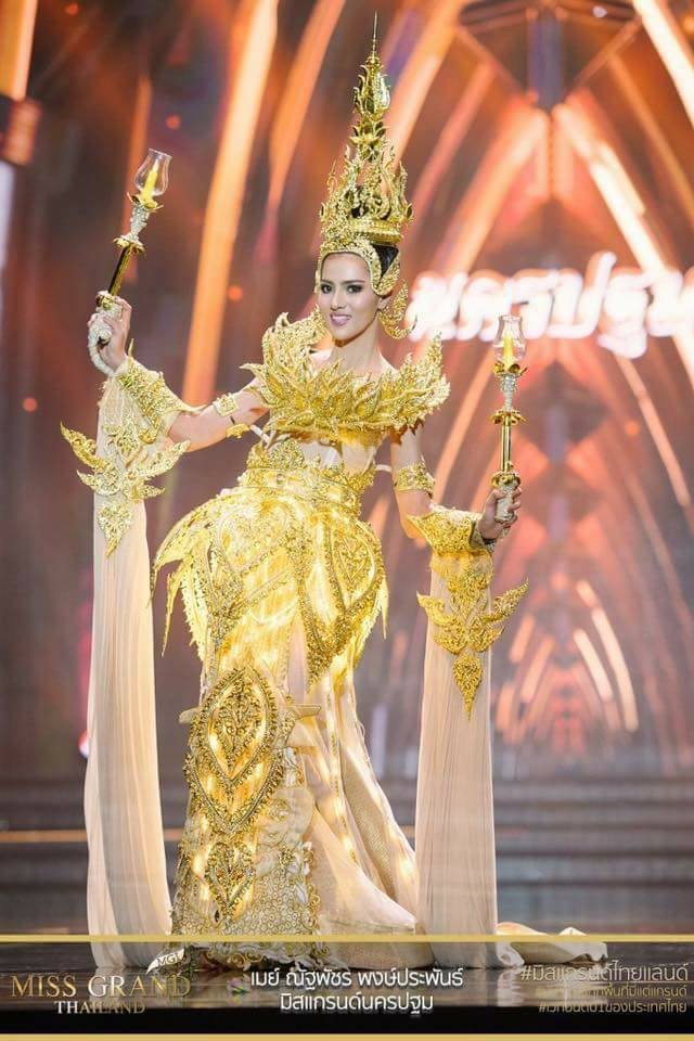 Miss Grand Thailand 2017: Thời trang dị nhưng đẹp, đầy đủ từ nhân mã cho đến tiên sầu riêng - Ảnh 13.