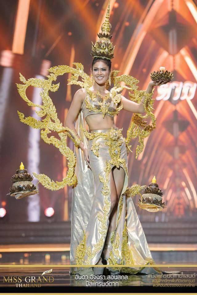 Miss Grand Thailand 2017: Thời trang dị nhưng đẹp, đầy đủ từ nhân mã cho đến tiên sầu riêng - Ảnh 14.