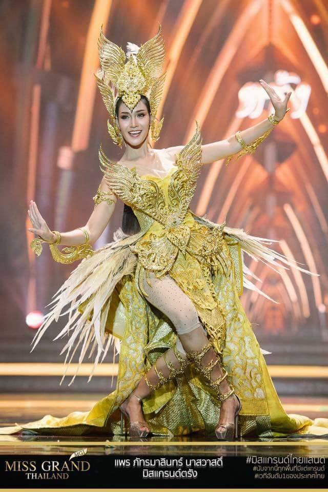 Miss Grand Thailand 2017: Thời trang dị nhưng đẹp, đầy đủ từ nhân mã cho đến tiên sầu riêng - Ảnh 15.