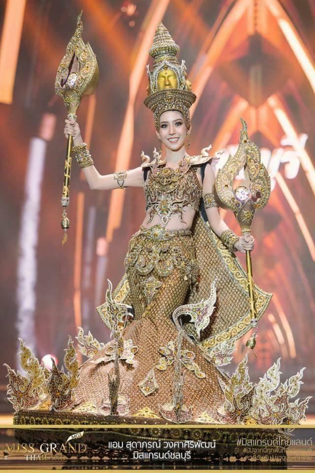 Miss Grand Thailand 2017: Thời trang dị nhưng đẹp, đầy đủ từ nhân mã cho đến tiên sầu riêng - Ảnh 16.