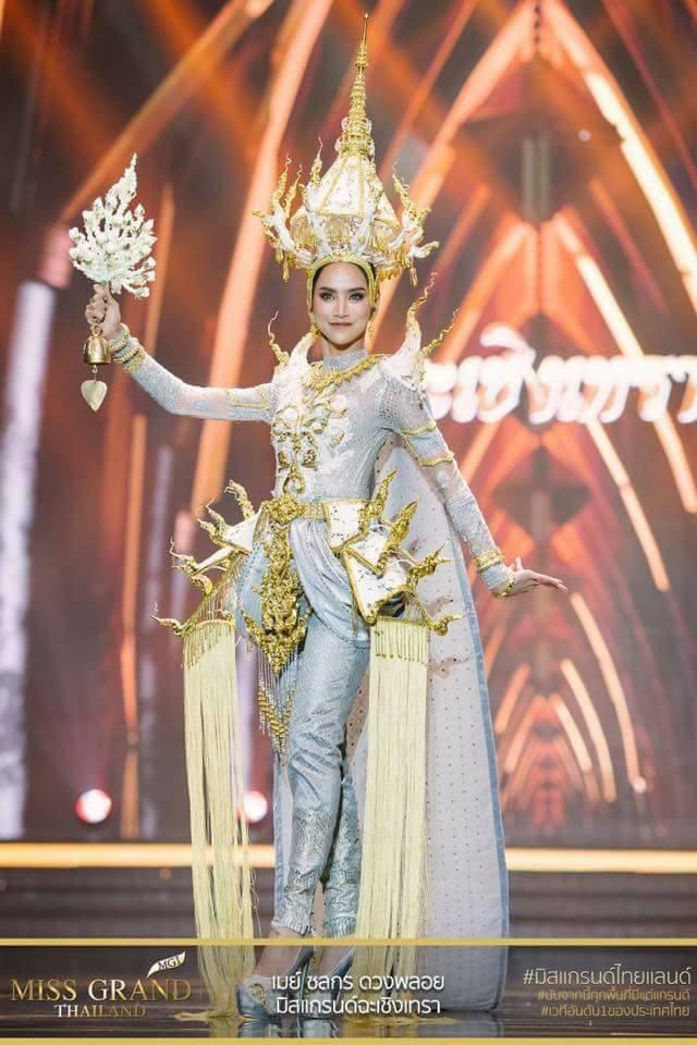 Miss Grand Thailand 2017: Thời trang dị nhưng đẹp, đầy đủ từ nhân mã cho đến tiên sầu riêng - Ảnh 17.