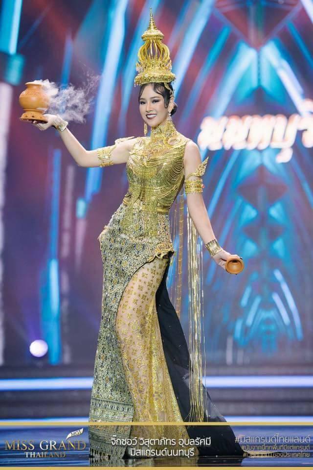 Miss Grand Thailand 2017: Thời trang dị nhưng đẹp, đầy đủ từ nhân mã cho đến tiên sầu riêng - Ảnh 18.