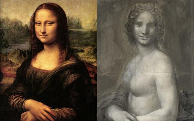 Giới khoa học sững sờ khi phát hiện nghi án bản vẽ nàng Mona Lisa... khỏa thân? - Ảnh 1.