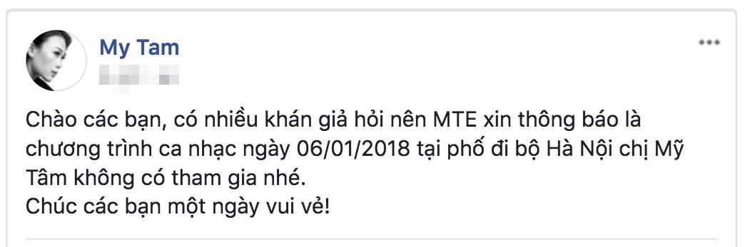 Xôn xao tin đồn Mỹ Tâm hủy show vì Sơn Tùng M-TP là trung tâm poster quảng bá sự kiện? - Ảnh 1.