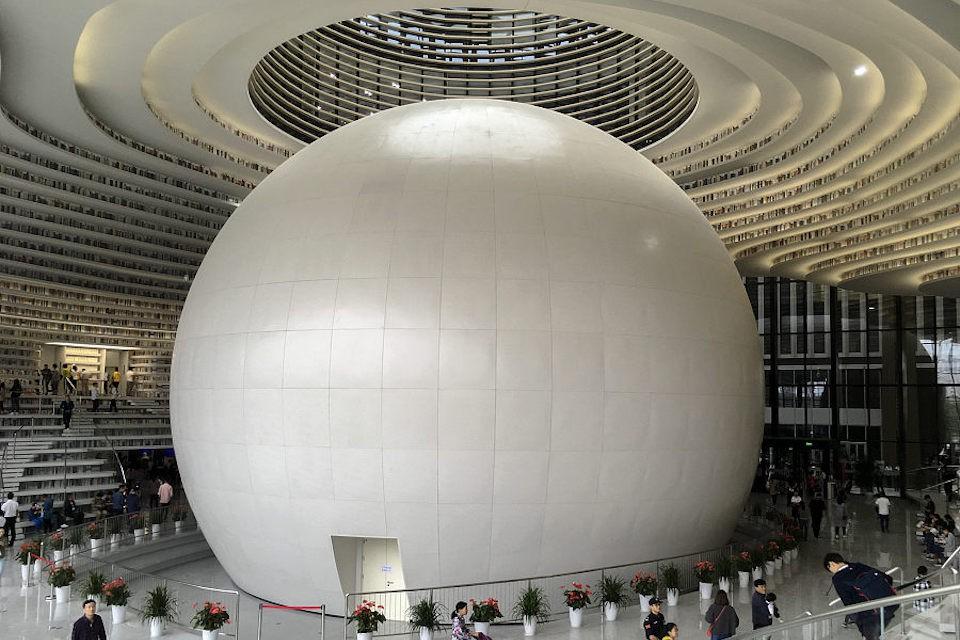 Ngắm thư viện đẹp nhất thế giới vừa được mở cửa tại Trung Quốc - Ảnh 5.
