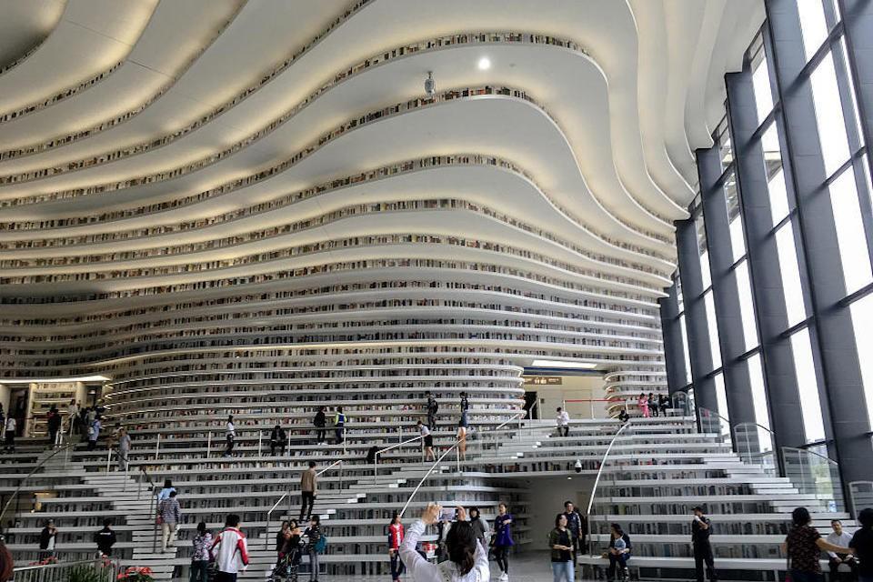 Ngắm thư viện đẹp nhất thế giới vừa được mở cửa tại Trung Quốc - Ảnh 19.