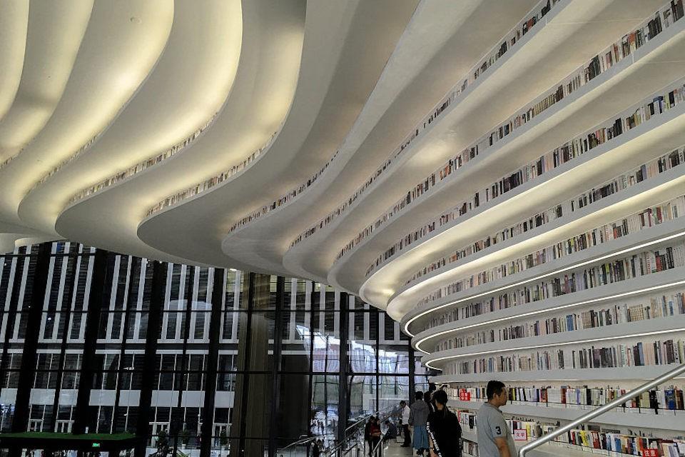 Ngắm thư viện đẹp nhất thế giới vừa được mở cửa tại Trung Quốc - Ảnh 17.