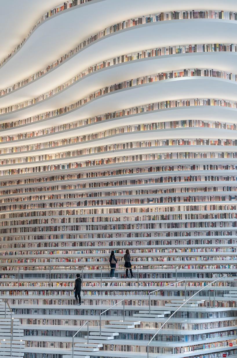 Ngắm thư viện đẹp nhất thế giới vừa được mở cửa tại Trung Quốc - Ảnh 3.