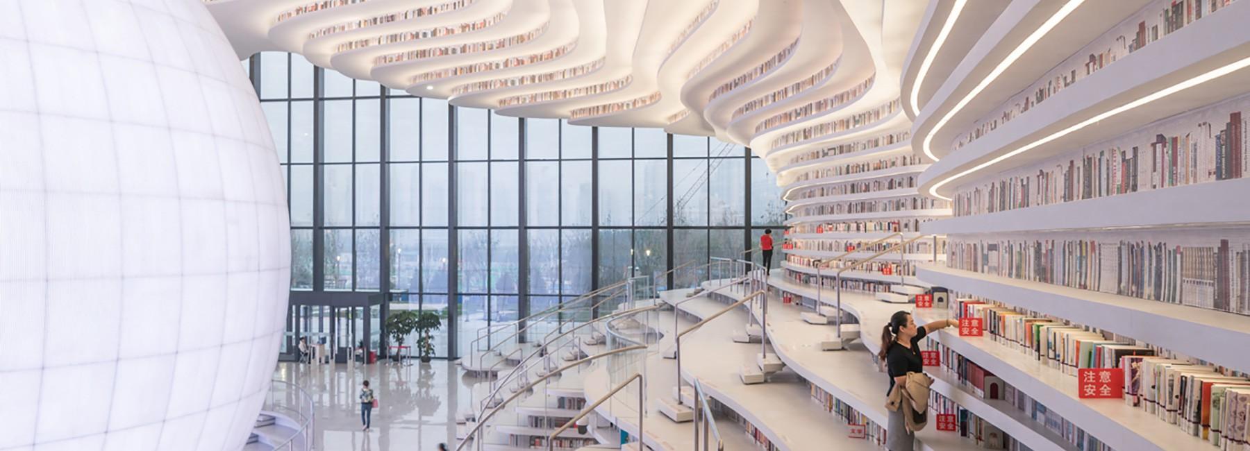 Ngắm thư viện đẹp nhất thế giới vừa được mở cửa tại Trung Quốc - Ảnh 9.