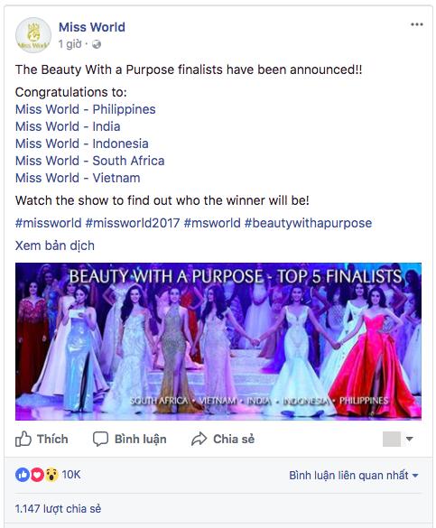 Mỹ Linh tại Miss World 2017: Mở đầu mờ nhạt, toả sáng ở những chặng đua nước rút và trượt Top 15 đầy tiếc nuối - Ảnh 9.