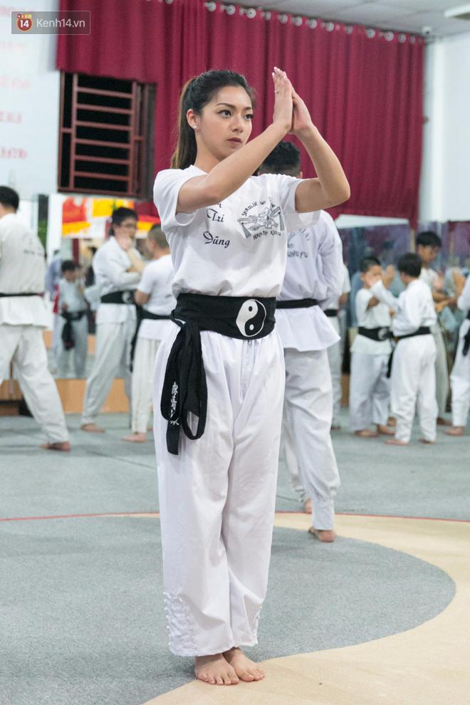 Con gái đại sư Nam Anh nổi bật tại võ đường Vịnh Xuân ở Sài Gòn - Ảnh 2.