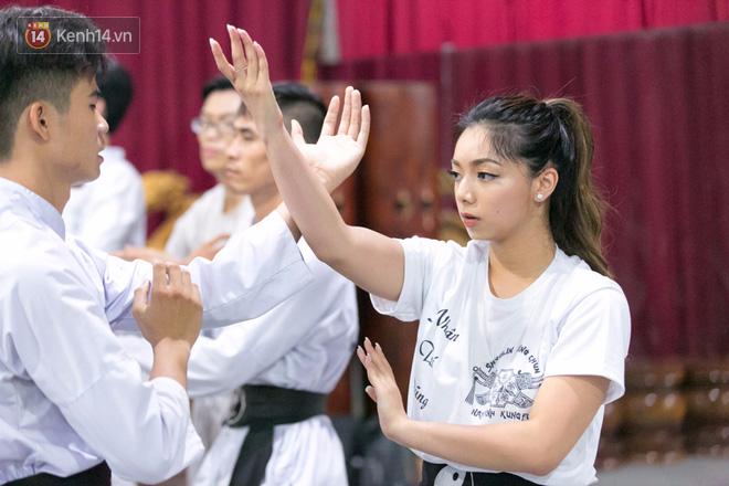Con gái đại sư Nam Anh nổi bật tại võ đường Vịnh Xuân ở Sài Gòn - Ảnh 4.