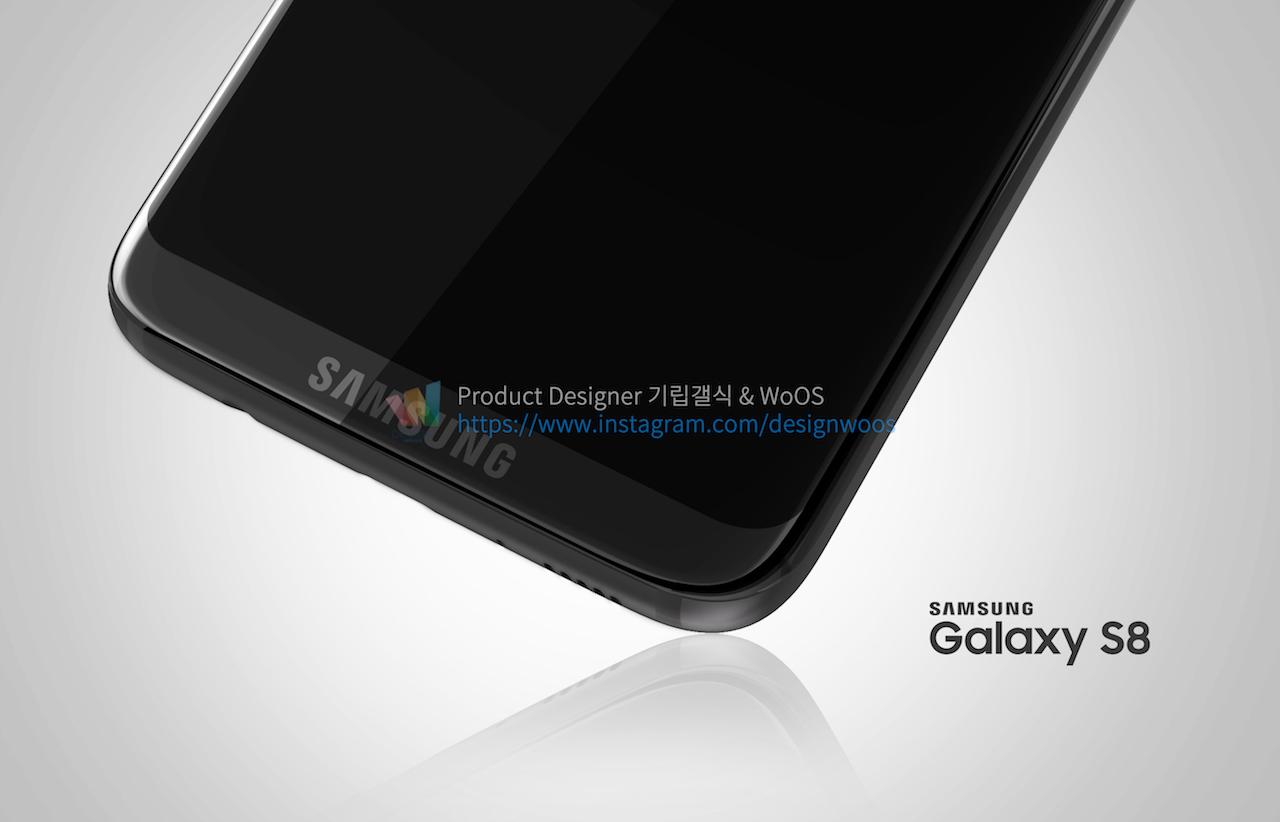 Chiêm ngưỡng ảnh render mới nhất của Galaxy S8 để thấy siêu phẩm này đẹp đến nhường nào - Ảnh 9.