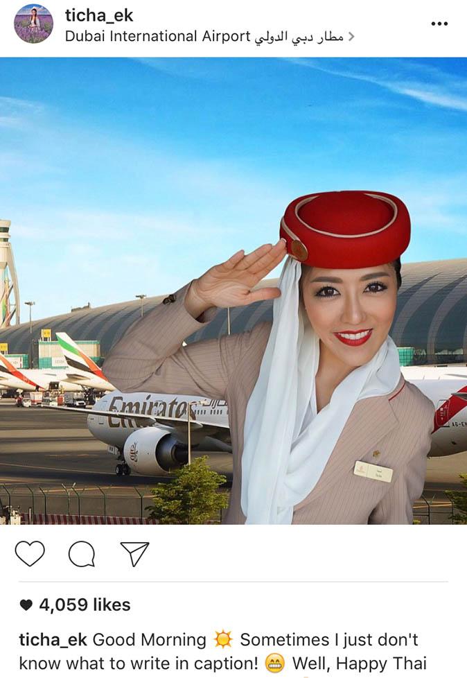 Bị bóc mẽ chuyên ghép ảnh để sống ảo, nữ tiếp viên hàng không xinh đẹp xoá luôn Instagram - Ảnh 10.