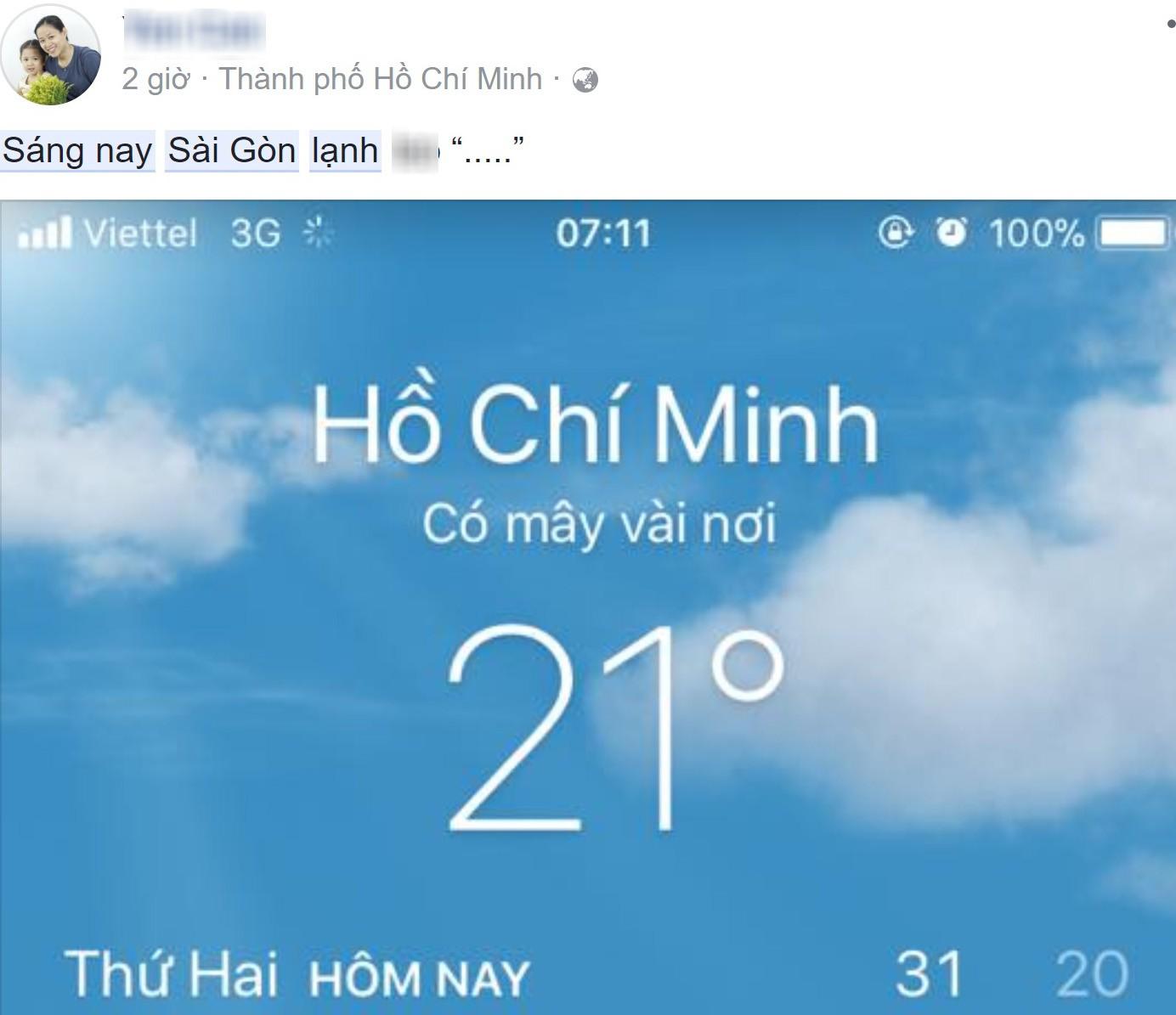 Sáng ngày ra, Facebook rồi Instagram tràn ngập status khoe Sài Gòn trở lạnh! - Ảnh 8.