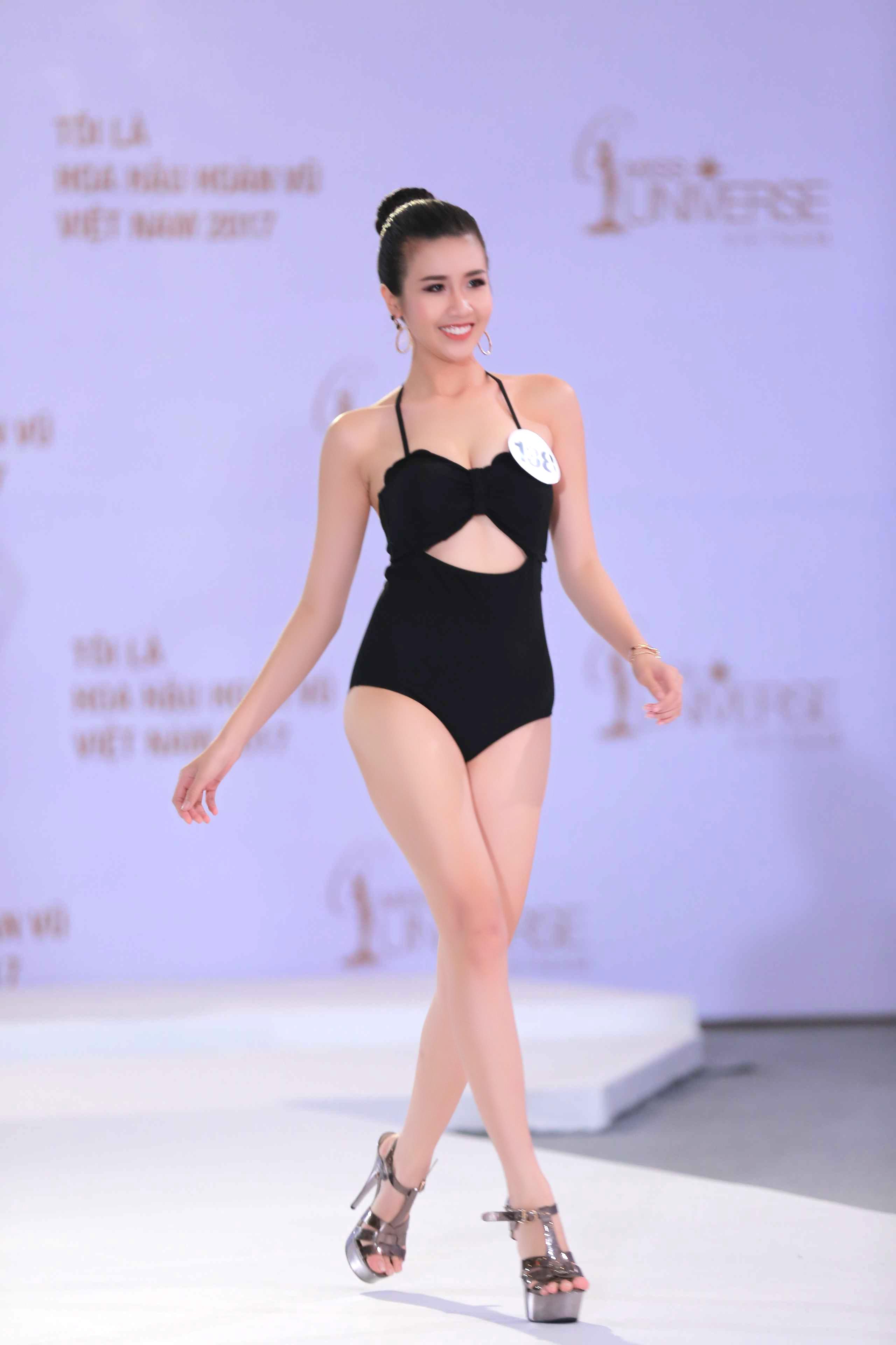 Cận cảnh hình ảnh bikini của Hoàng Thùy, Mâu Thủy, Mai Ngô... tại Hoa hậu Hoàn vũ, ai nuột nhất? - Ảnh 14.