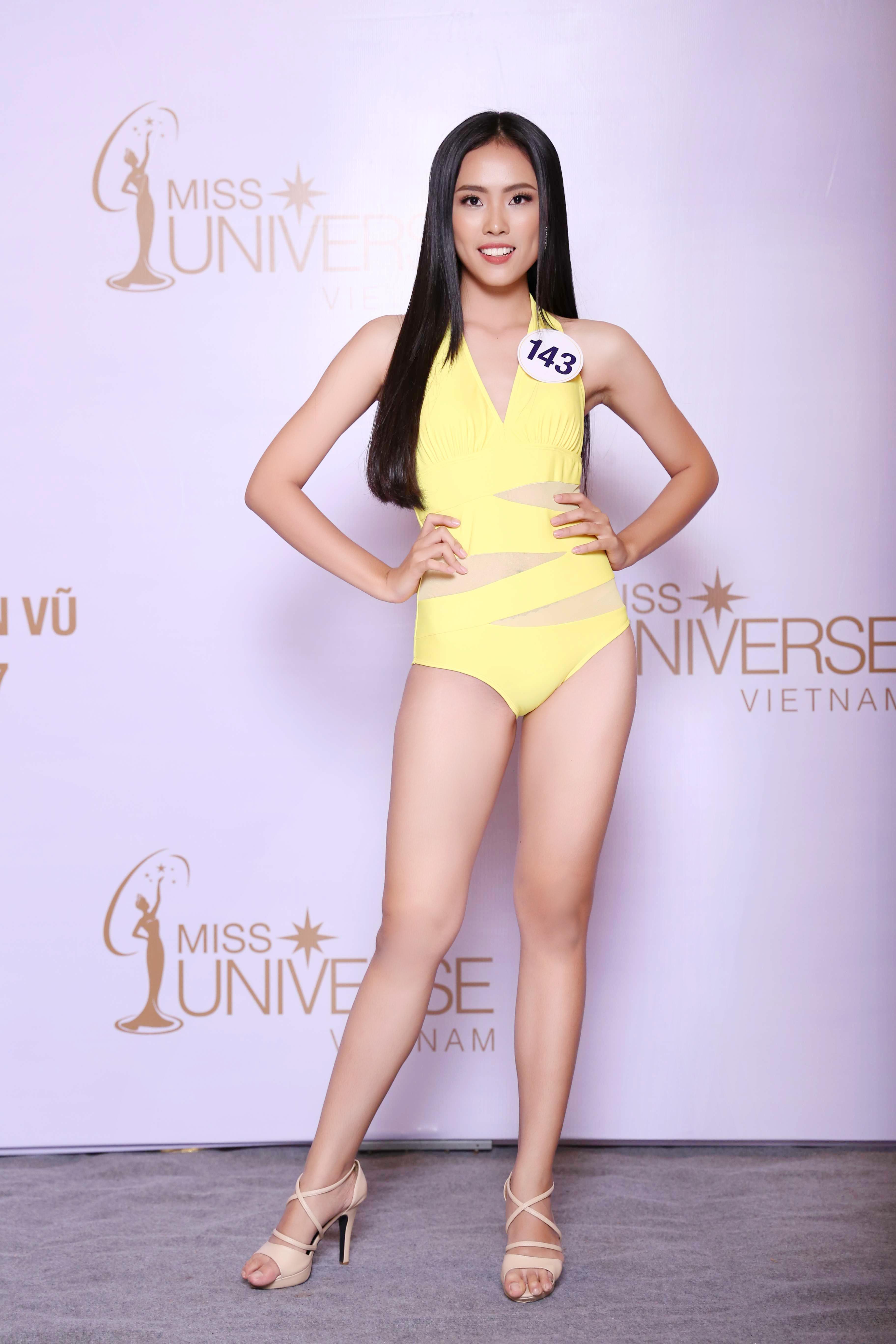 Cận cảnh hình ảnh bikini của Hoàng Thùy, Mâu Thủy, Mai Ngô... tại Hoa hậu Hoàn vũ, ai nuột nhất? - Ảnh 16.