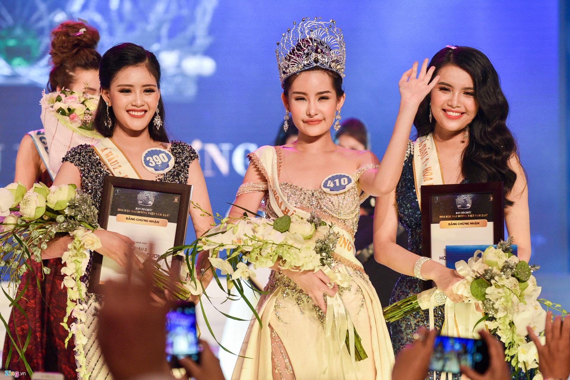 Vừa xuất hiện trước truyền thông: Nhan sắc Hoa hậu Đại Dương lại tiếp tục khiến công chúng thất vọng